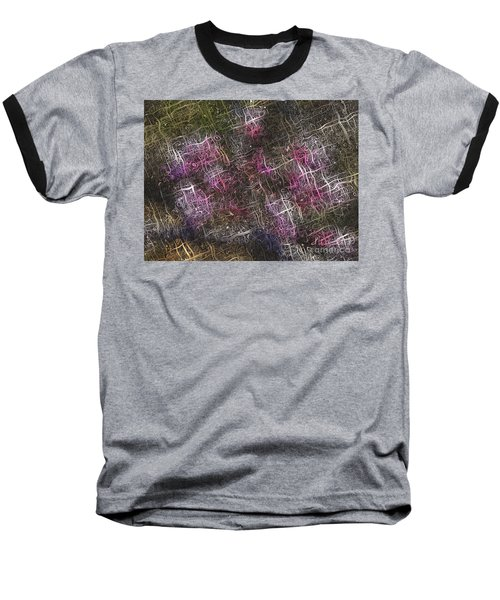 Abstract Tulip Baseball T-Shirt
