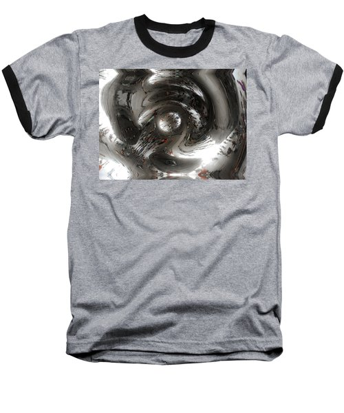 Abstract Underbelly Of The Bean, Chicago Il Baseball T-Shirt
