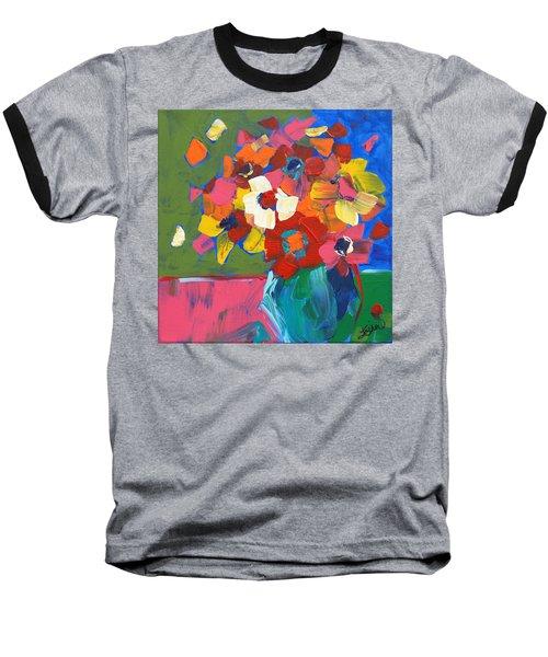 Abstract Vase Baseball T-Shirt by Terri Einer
