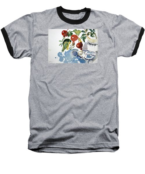 Abstract Vegetables 2 Baseball T-Shirt