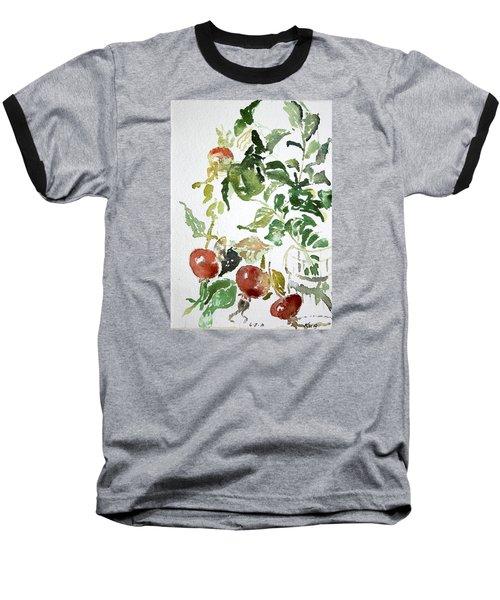 Abstract Vegetables Baseball T-Shirt