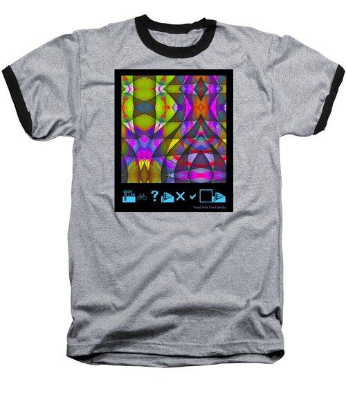 Abstract Baseball T-Shirt