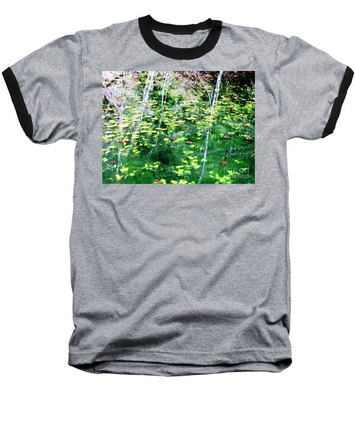 Baseball T-Shirt featuring the photograph Abstract Water by Melissa Stoudt