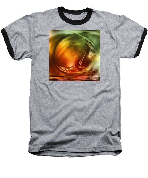Abstract Whiskey Baseball T-Shirt by Johnny Hildingsson