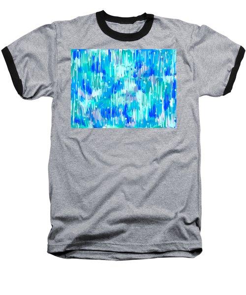 Abstract Winter Baseball T-Shirt
