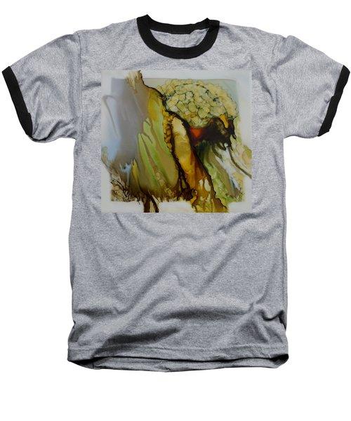 Abstract X Baseball T-Shirt by Joanne Smoley