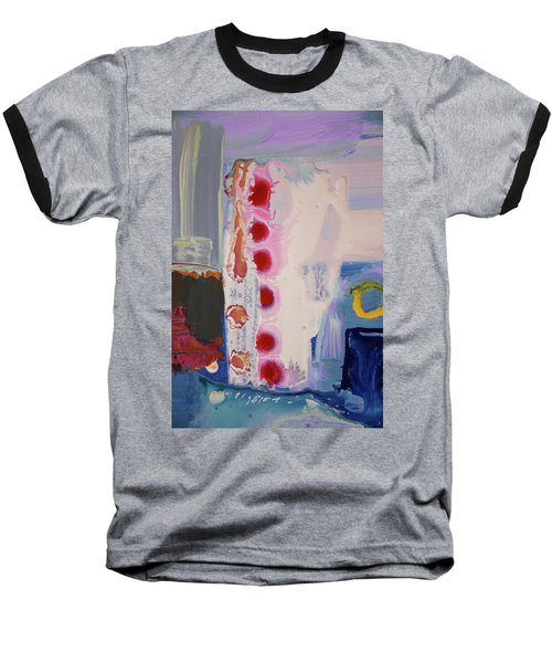 abstraction, fire in the Chakras Baseball T-Shirt by Amara Dacer