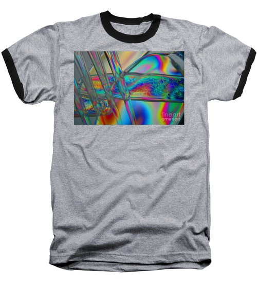 Abstraction In Color 2 Baseball T-Shirt