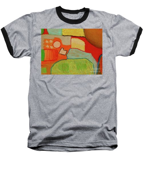 Abstraction123 Baseball T-Shirt by Paul McKey