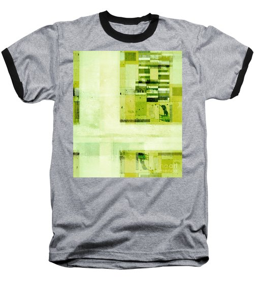 Baseball T-Shirt featuring the digital art Abstractitude - C4v by Variance Collections