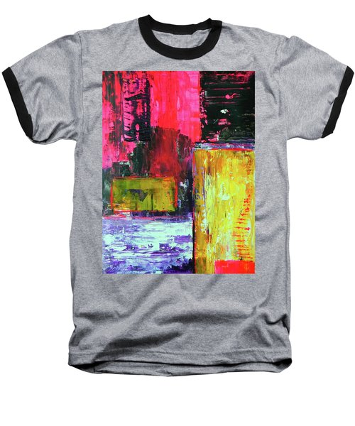 Abstractor Baseball T-Shirt by Everette McMahan jr