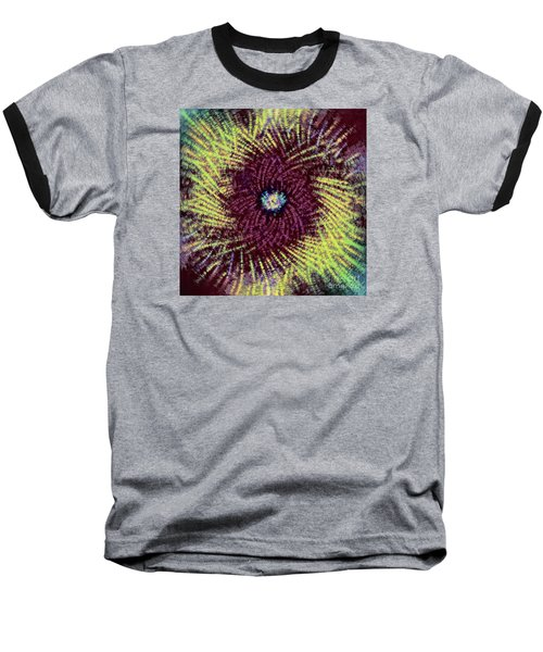 Baseball T-Shirt featuring the photograph Abstract Swirl 02 by Jack Torcello
