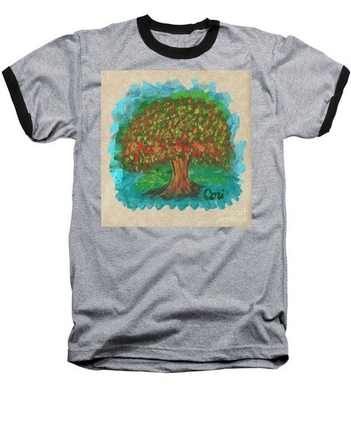 Abundant Tree Baseball T-Shirt