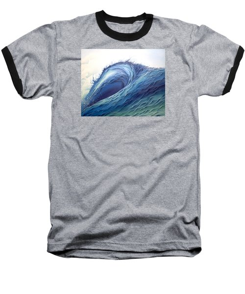 Abyss Baseball T-Shirt by William Love