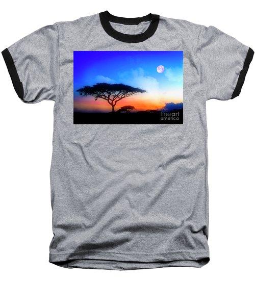 Acacia Sunset Baseball T-Shirt