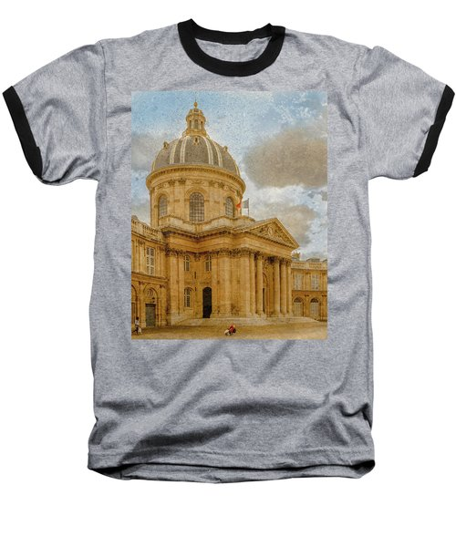 Paris, France - Academie Francaise Baseball T-Shirt