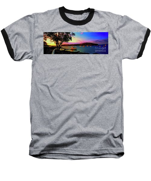Acadia Bar Harbor Sunset Cruises.tif Baseball T-Shirt