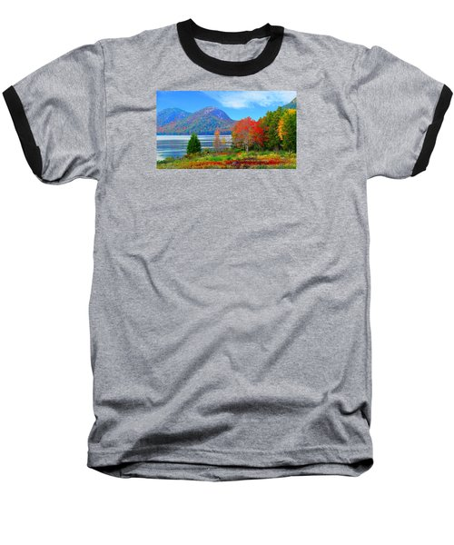 Acadia National Park Baseball T-Shirt