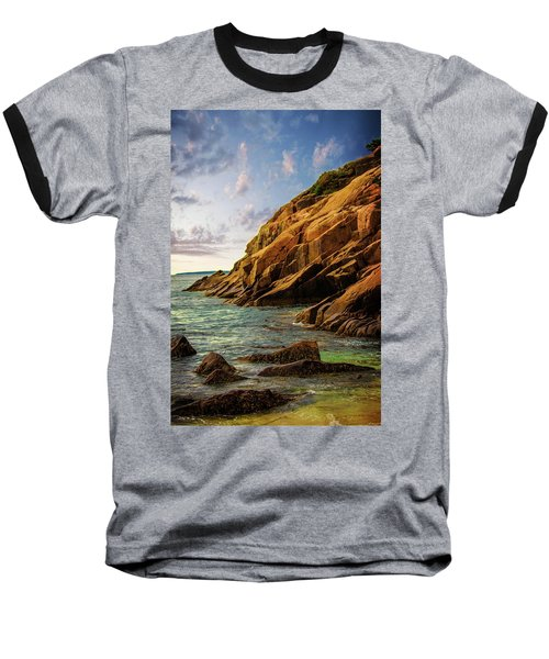 Acadia National Park--maine Baseball T-Shirt by Sherman Perry