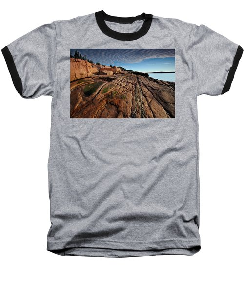 Acadia Rocks Baseball T-Shirt