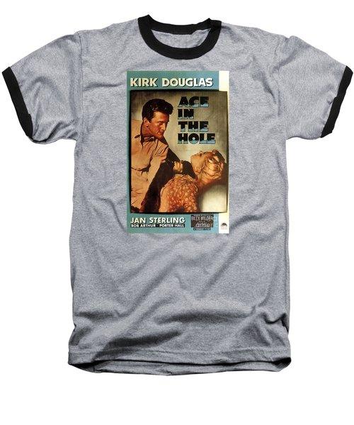 Ace In The Hole Film Noir Baseball T-Shirt
