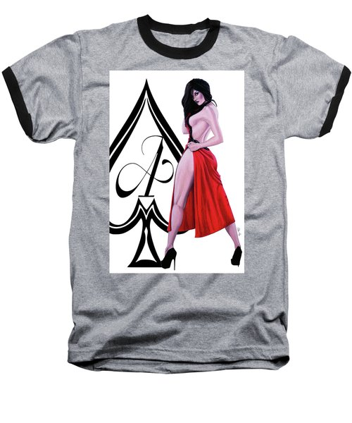 Ace Of Spades 2 Baseball T-Shirt