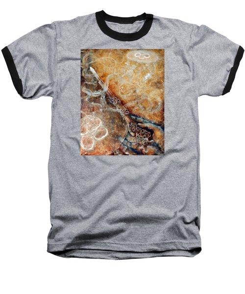 Ace Of Wands Baseball T-Shirt by Ashley Kujan
