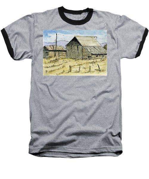 Aceo No 3 Two Barns Baseball T-Shirt