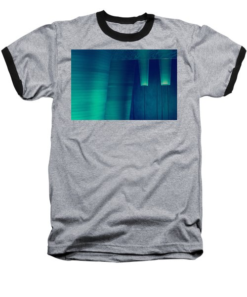 Baseball T-Shirt featuring the photograph Acoustic Wall by Bobby Villapando