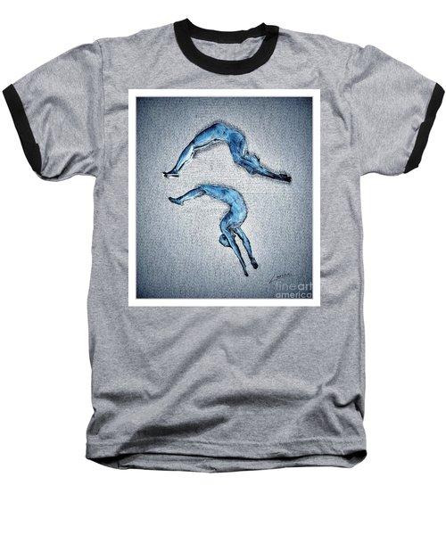 Acrobatic Gesture Baseball T-Shirt