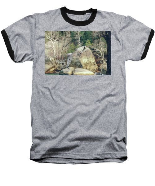 Across From Eagle Falls Baseball T-Shirt