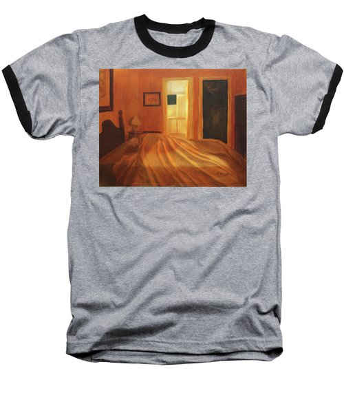 Across The Bed Baseball T-Shirt