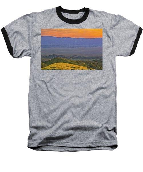 Across The Carrizo Plain At Sunset Baseball T-Shirt by Marc Crumpler