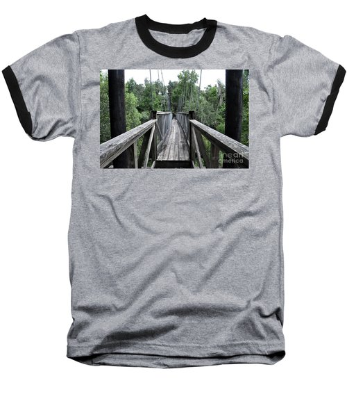 Baseball T-Shirt featuring the photograph Across The Great Divide by John Black