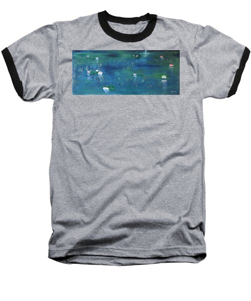 Across The Lily Pond Baseball T-Shirt