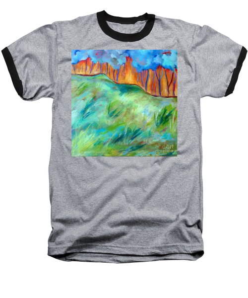 Across The Meadow Baseball T-Shirt