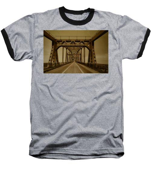 Across The Old Bridge Baseball T-Shirt