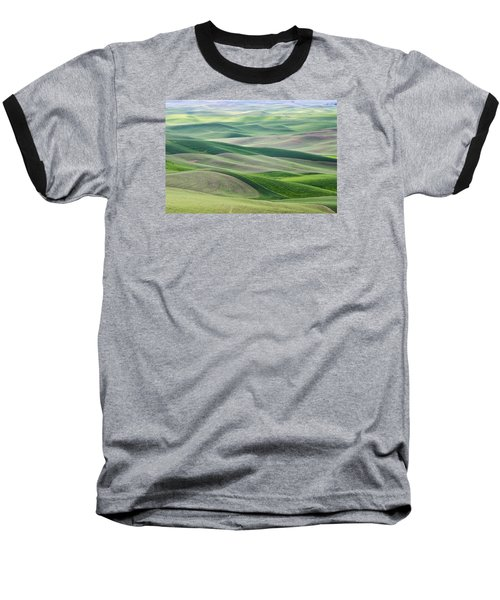 Baseball T-Shirt featuring the photograph Across The Valley by Wanda Krack
