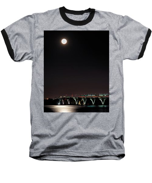 Across The Water Baseball T-Shirt