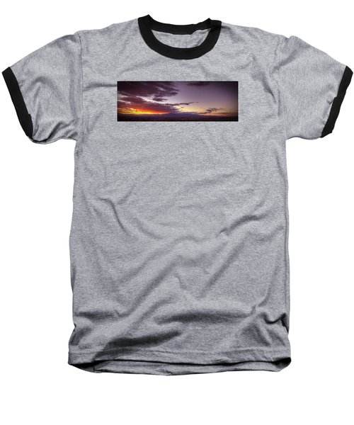 Across Vegas Sunset Baseball T-Shirt