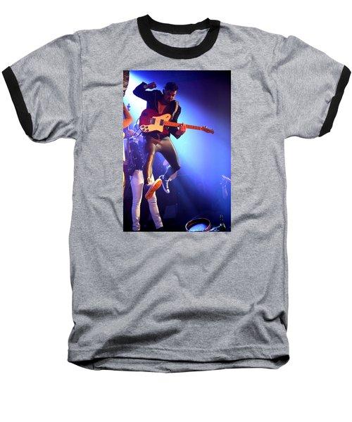 Adam Catches Some Air Baseball T-Shirt