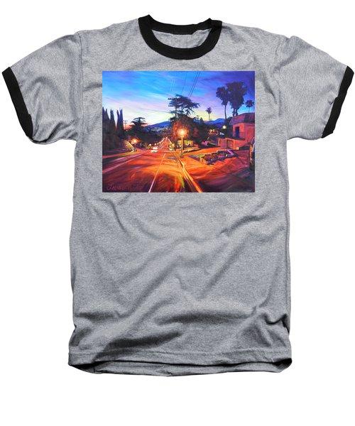 Twilight Passion Baseball T-Shirt by Bonnie Lambert
