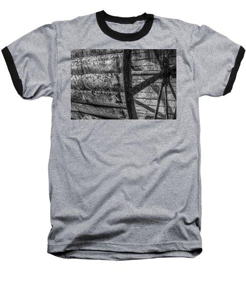 Adam's Mill Water Wheel Baseball T-Shirt