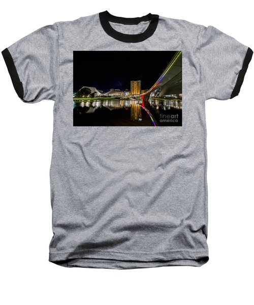 Adelaide Riverbank Baseball T-Shirt