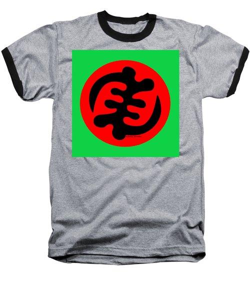 Adinkra Symbol Gye Nyame Except God Only God Baseball T-Shirt