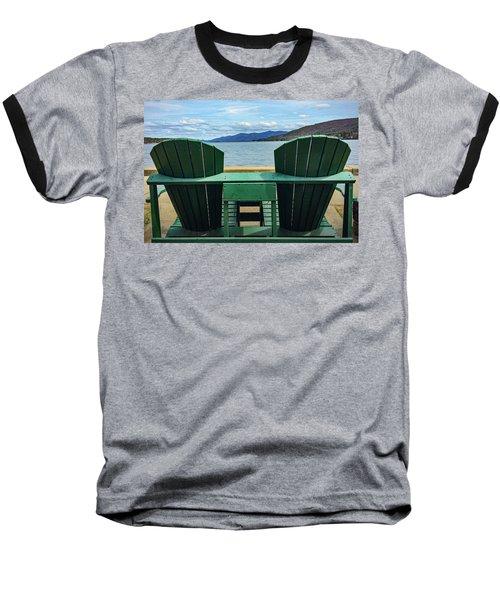 Adirondack Chair For Two Baseball T-Shirt