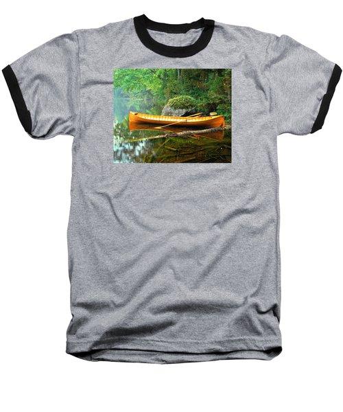 Adirondack Guideboat Baseball T-Shirt