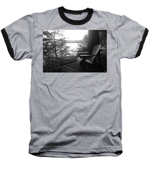 Adirondack In Maine Baseball T-Shirt