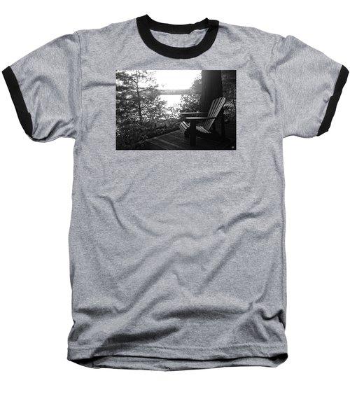 Adirondack In Maine Baseball T-Shirt