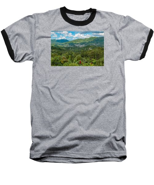 Baseball T-Shirt featuring the photograph Adjuntas by Jose Oquendo